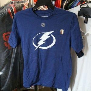 Tampa Bay Lightning Steven Stamkos T-Shirt Blue